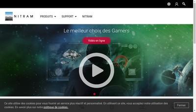 Site internet de SA Nitram
