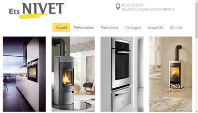 Site internet de Nivet