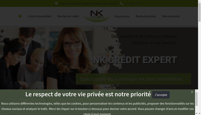 Site internet de Nk Credit Expert