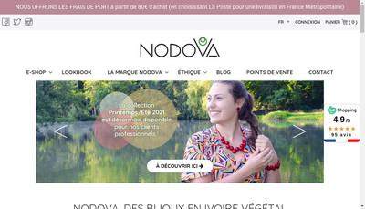 Site internet de Nodova
