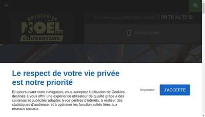 Site internet de Noel Couverture