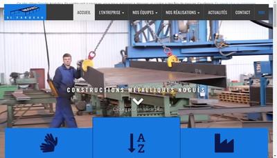 Site internet de Constructions Nogues