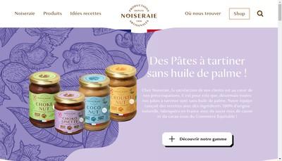 Site internet de SARL Noiseraie Productions