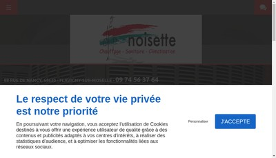 Site internet de Etablissements Noisette