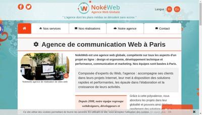 Site internet de Nokeshop