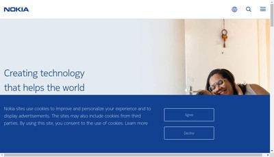 Site internet de Nokia Bell Labs France
