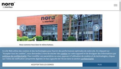 Site internet de Nora Revetements de Sols