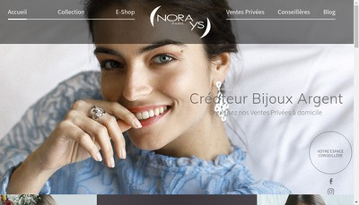 Site internet de Nora Ys Paris