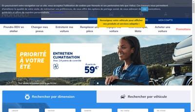 Site internet de Norauto International