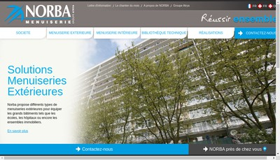 Site internet de Mpp Norba Centre
