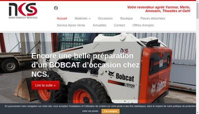 Site internet de Nord Compact Services