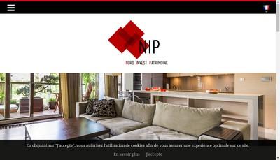 Site internet de Nord Invest Patrimoine