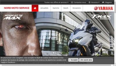 Site internet de Nord Moto Service