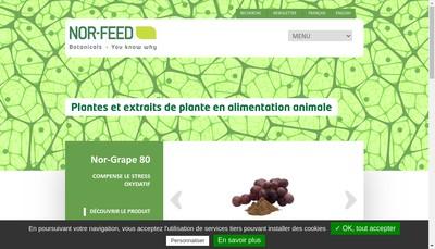 Site internet de Nor-Feed Holding