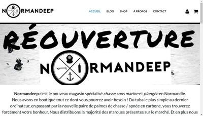 Site internet de Normandeep