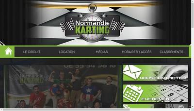 Site internet de Normandie Karting