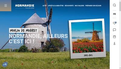 Site internet de Normandie Plage