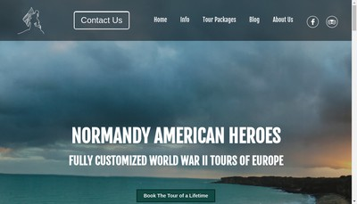Site internet de Normandy American Heroes