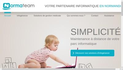 Site internet de Xefi Caen Sud