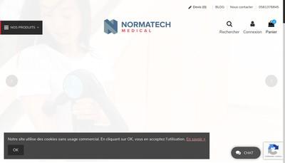Site internet de Normatech