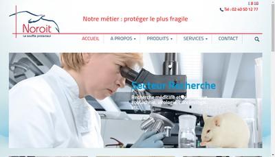 Site internet de Noroit