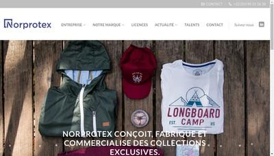 Site internet de Norprotex SA