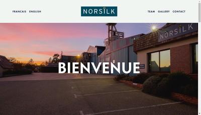 Site internet de Norsilk