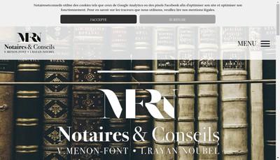 Site internet de Notaires et Conseils