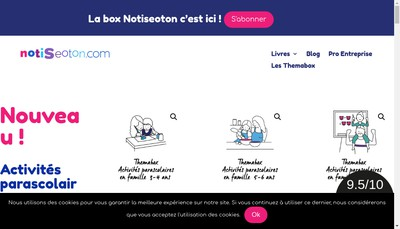 Site internet de Notiseoton