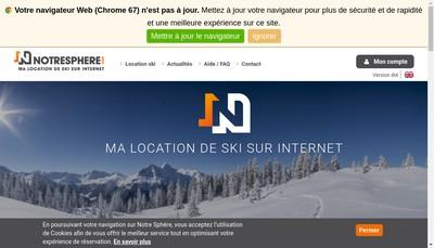 Site internet de Notresphere Com