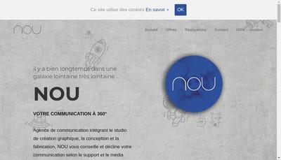 Site internet de Nou