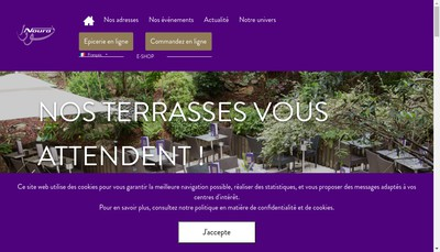 Site internet de Noura Beaugrenelle