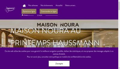 Site internet de Noura Marceau