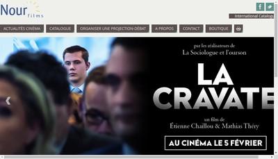 Site internet de Nour Films