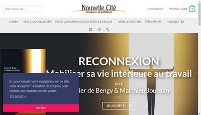 Site internet de Nouvelle Cite