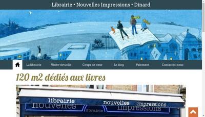 Site internet de Nouvelles Impressions