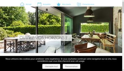 Site internet de Novafermetures