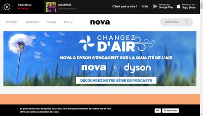 Site internet de La Nova