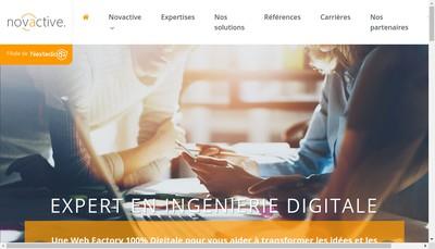 Site internet de Novactive