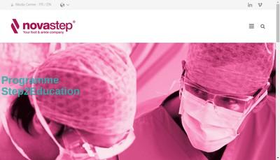 Site internet de Novastep