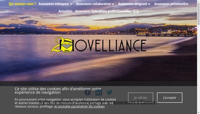 Site internet de Novelliance
