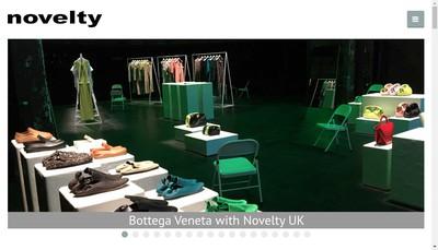 Site internet de Groupe Novelty-Euroson-Novelty