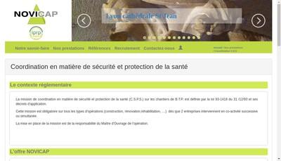 Site internet de Novicap