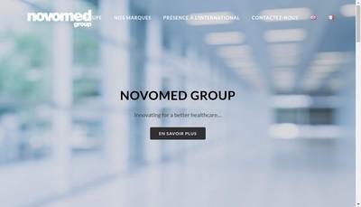 Site internet de Novomed