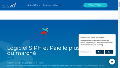 Site internet de Novrh