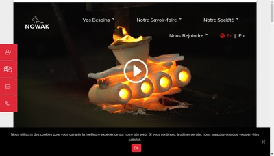 Site internet de Nowak