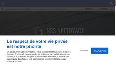 Site internet de Nss Nettoyage