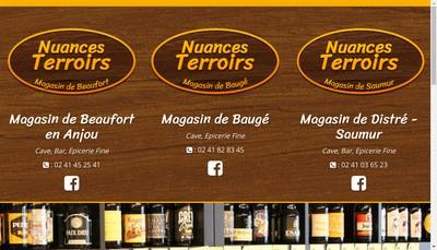 Site internet de Nuances Terroirs