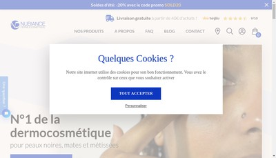 Site internet de Nubiance