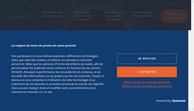 Site internet de ISE